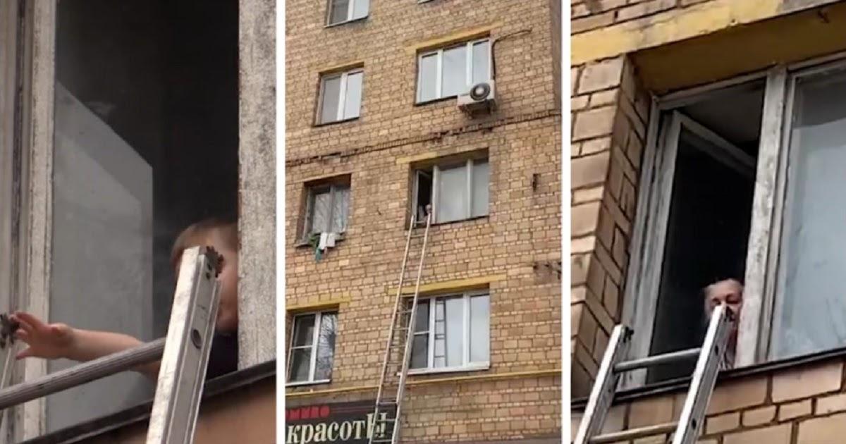 В Москве бабушка заперлась с внуком в квартире, когда пришли органы опеки