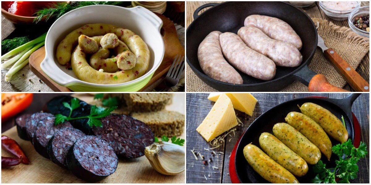 Фото ТОП-7 рецептов домашних колбасок