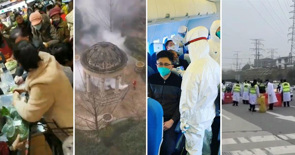 Русские рассказали, что происходит в закрытом из-за коронавируса Ухане