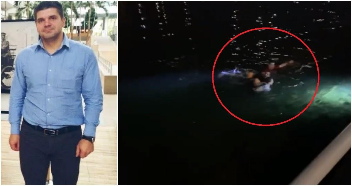 Житель российской глубинки награжден за спасение мужчины из реки в Париже