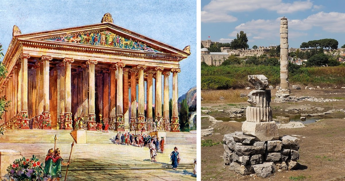 Фото Герострат и слава Герострата: сожжение храма Артемиды Эфесской и история выражения