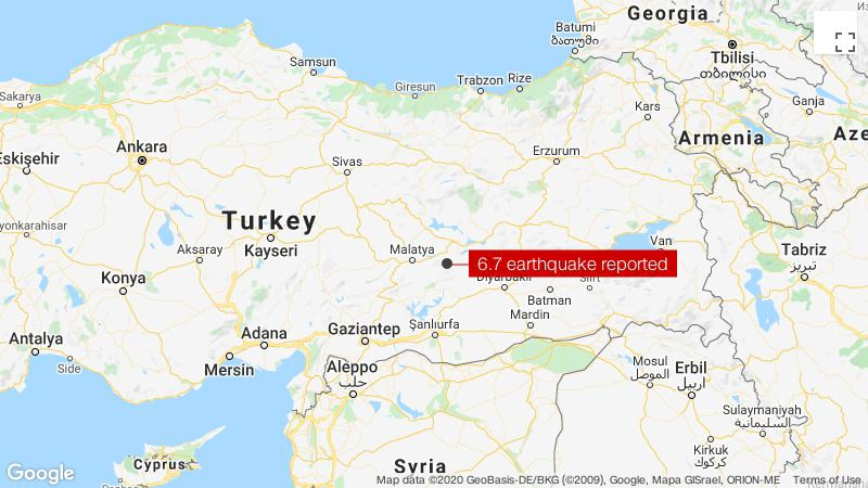 Photo of At least 22 dead in Turkey quake