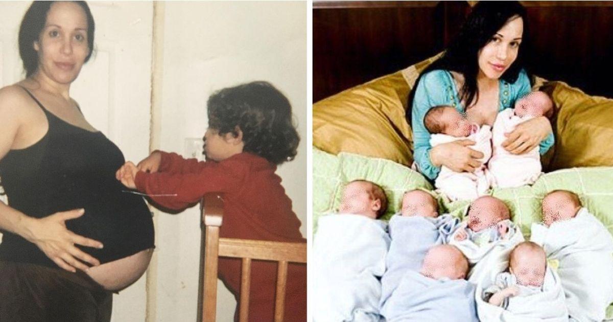 """Фото """"Восьмимама"""" Надя Сулеман: как сейчас живет женщина, родившая 8 близнецов"""