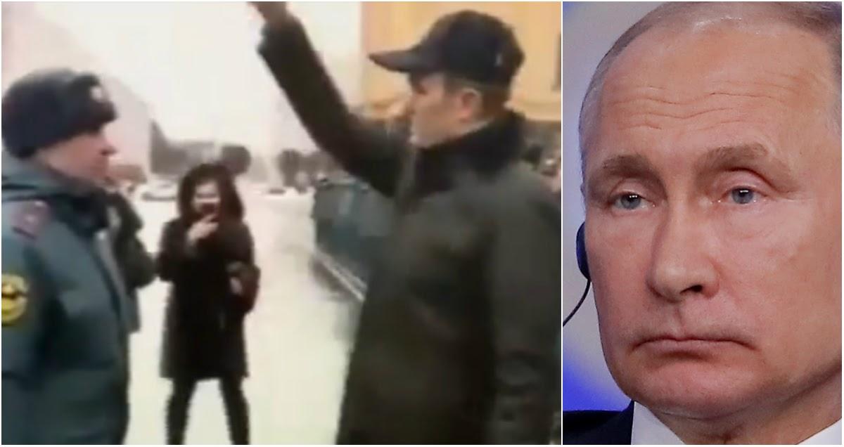 """Путин отправил в отставку главу Чувашии после """"собачьего фокуса"""" с пожарным"""