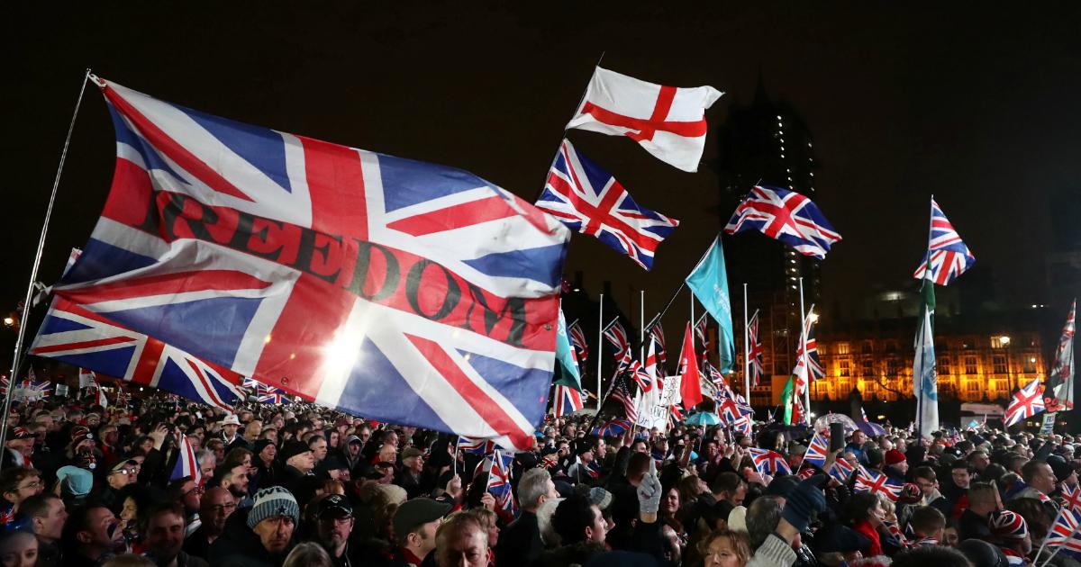 Фото Brexit случился. Великобритания вышла из Евросоюза
