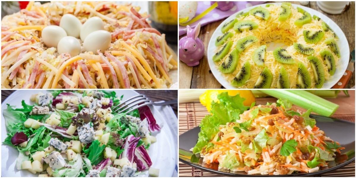 ТОП-7 вкусных салатов на любой случай