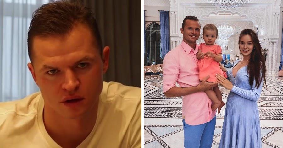 У футболиста Тарасова и модели Костенко родился ребенок