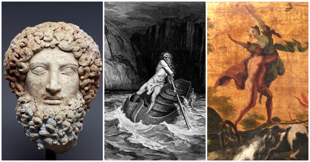 Фото Бог смерти Аид: Аид и Персефона, подземное царство в мифах Древней Греции
