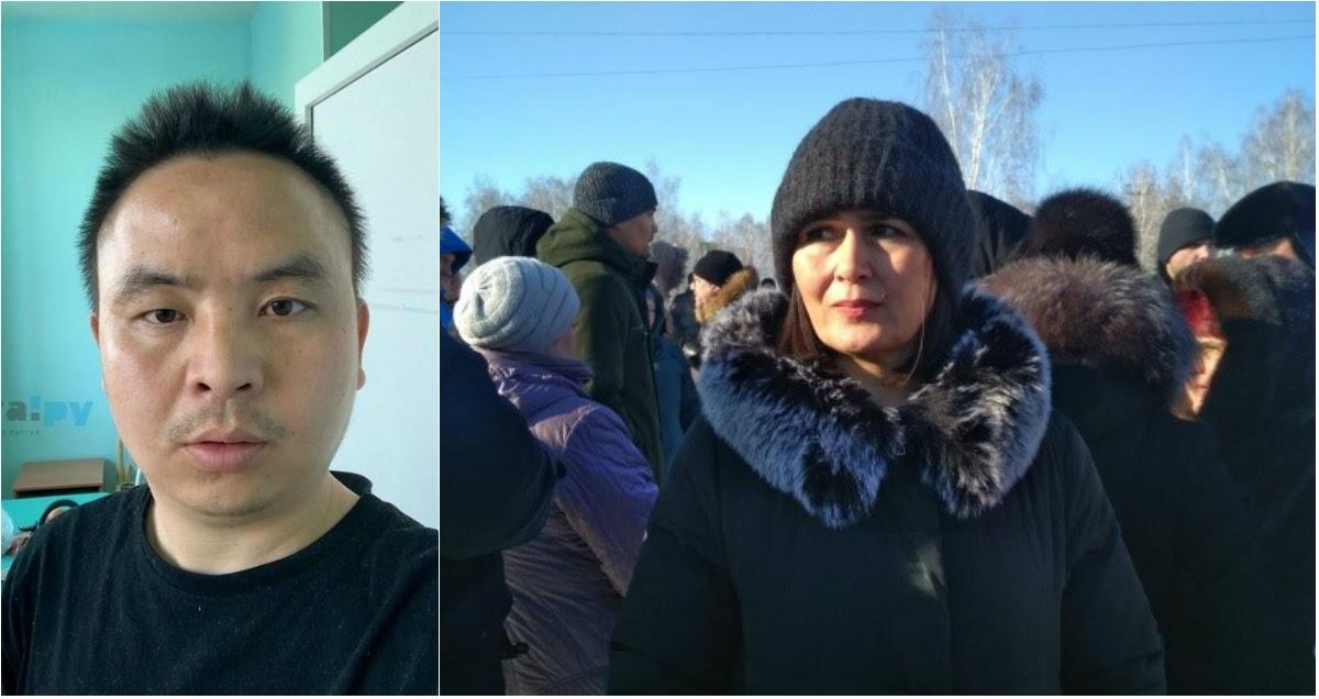 Местные вышли на митинг против карантинного центра по коронавирусу в Ужевке