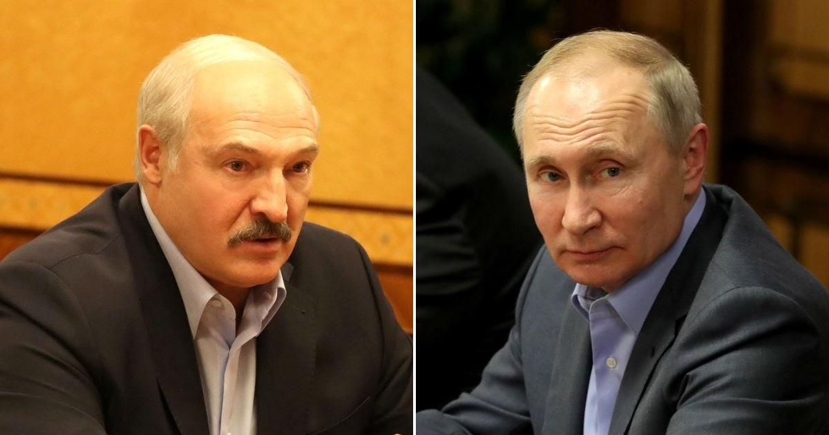 """Фото Bloomberg: Путин склонял Лукашенко к созданию """"сверхдержавы"""", но не смог"""