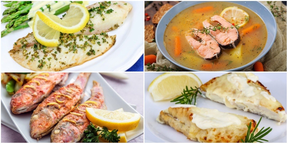 Фото Подборка сытных блюд из рыбы