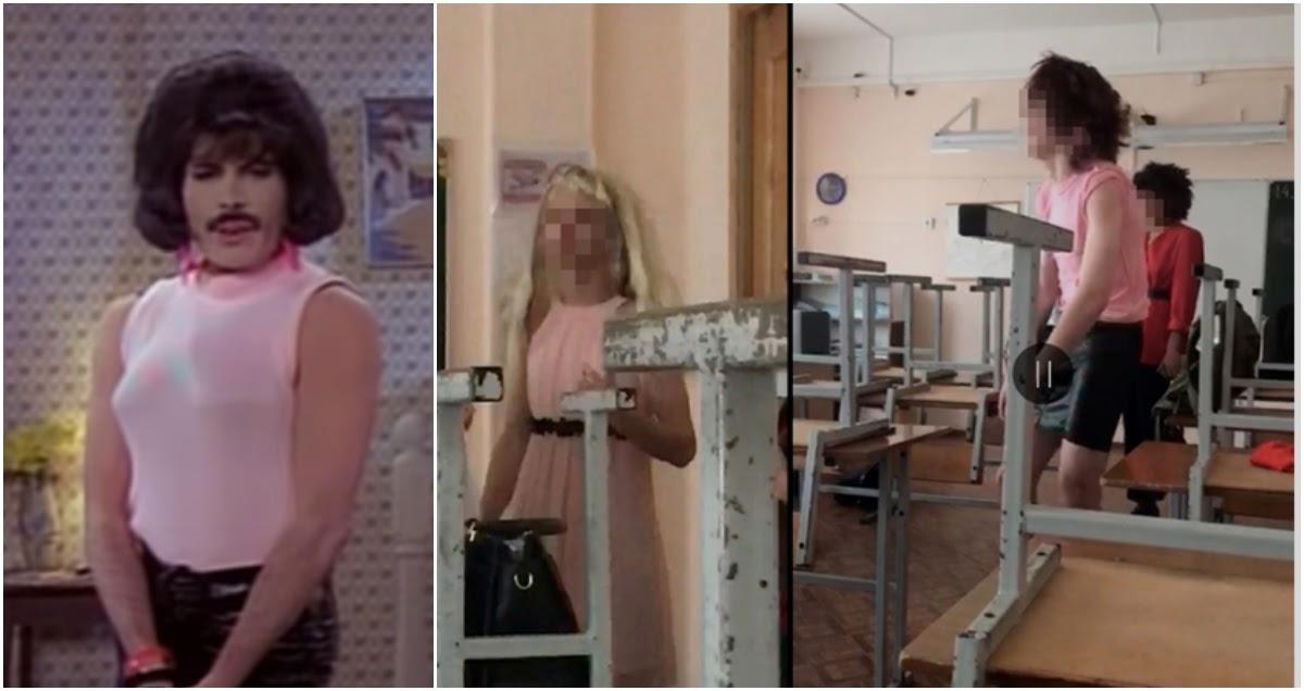 Школьникам из Петербурга запретили выступать в образе Фредди Меркьюри