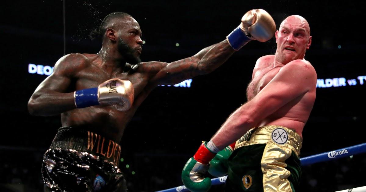 Фото Боксерский бой Уайлдер - Фьюри: когда состоится реванш. Где смотреть бой?