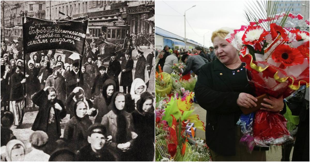 8 марта: история праздника. Что произошло 8 марта 1917 года?