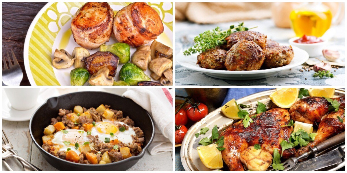 Подборка сытных мясных блюд на каждый день