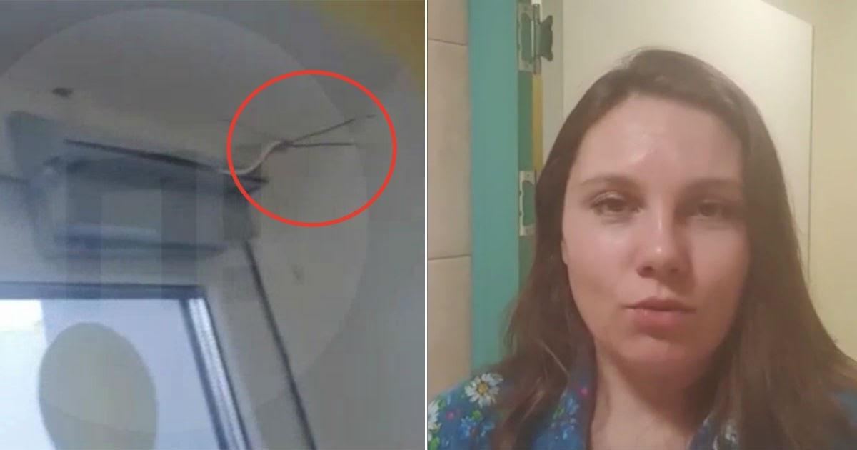 Россиянка, которую вернули на карантин после побега, записала видео