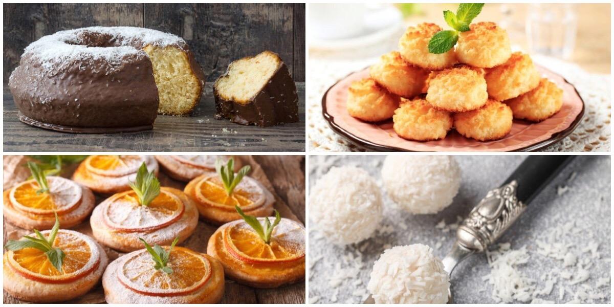 Подборка десертов с кокосовым вкусом