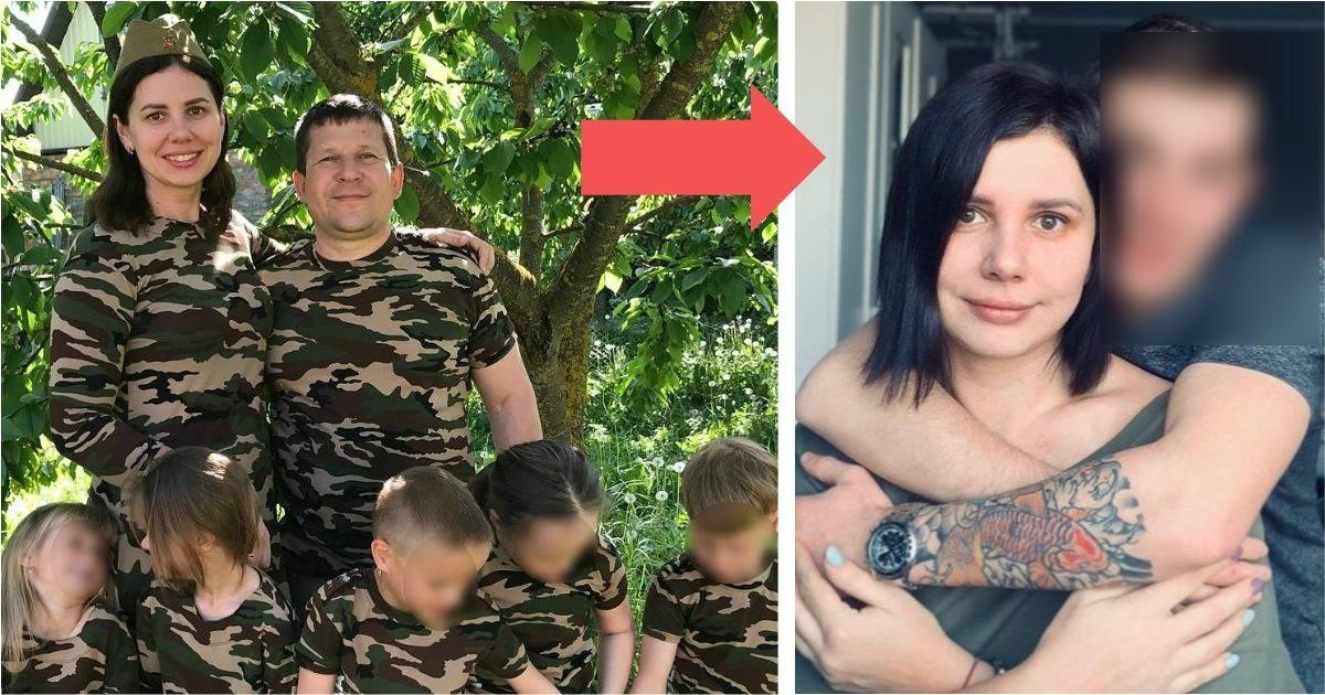 Фото На Кубани блогерша, усыновившая 5 детей, ушла от мужа к 20-летнему пасынку