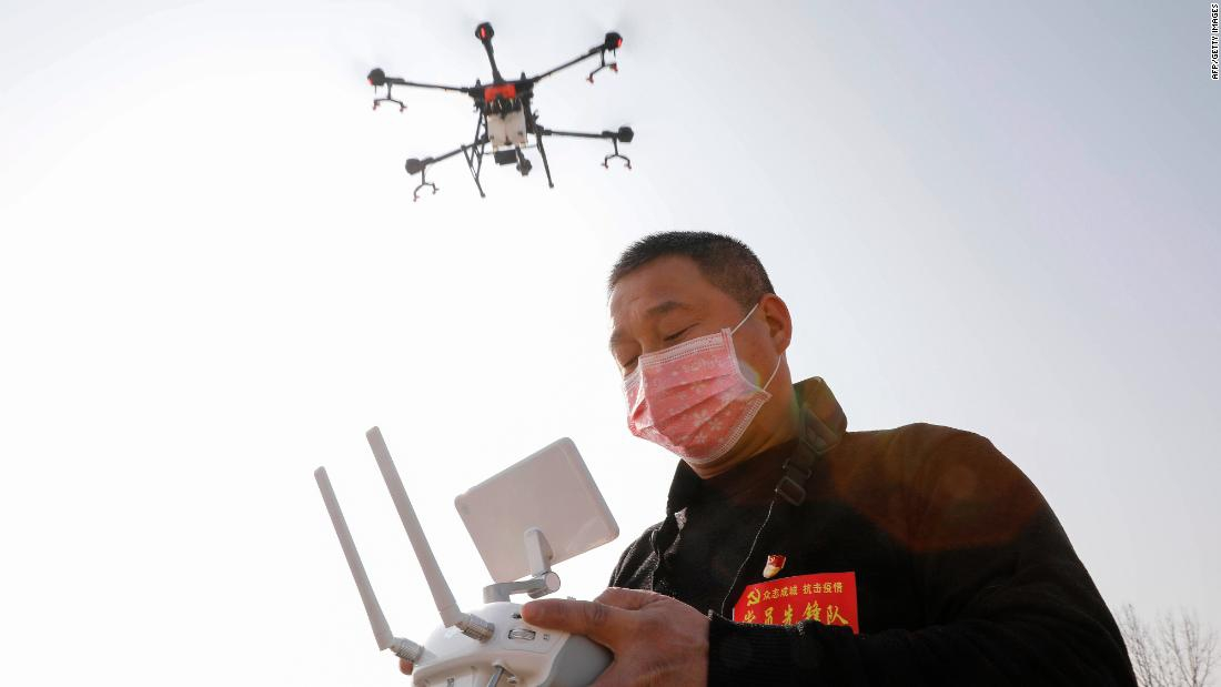 Photo of Drones. Disinfecting robots. Supercomputers. Coronavirus is a test for China's tech industry