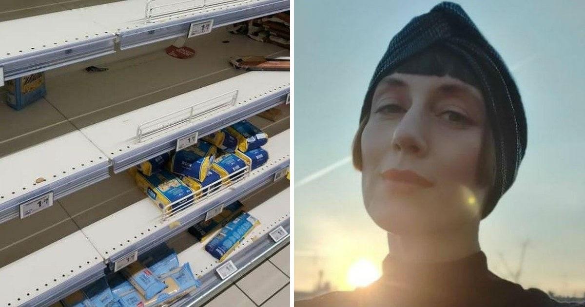 «Таких магазинов не видела с развала СССР». Русская - о коронавирусе в Италии