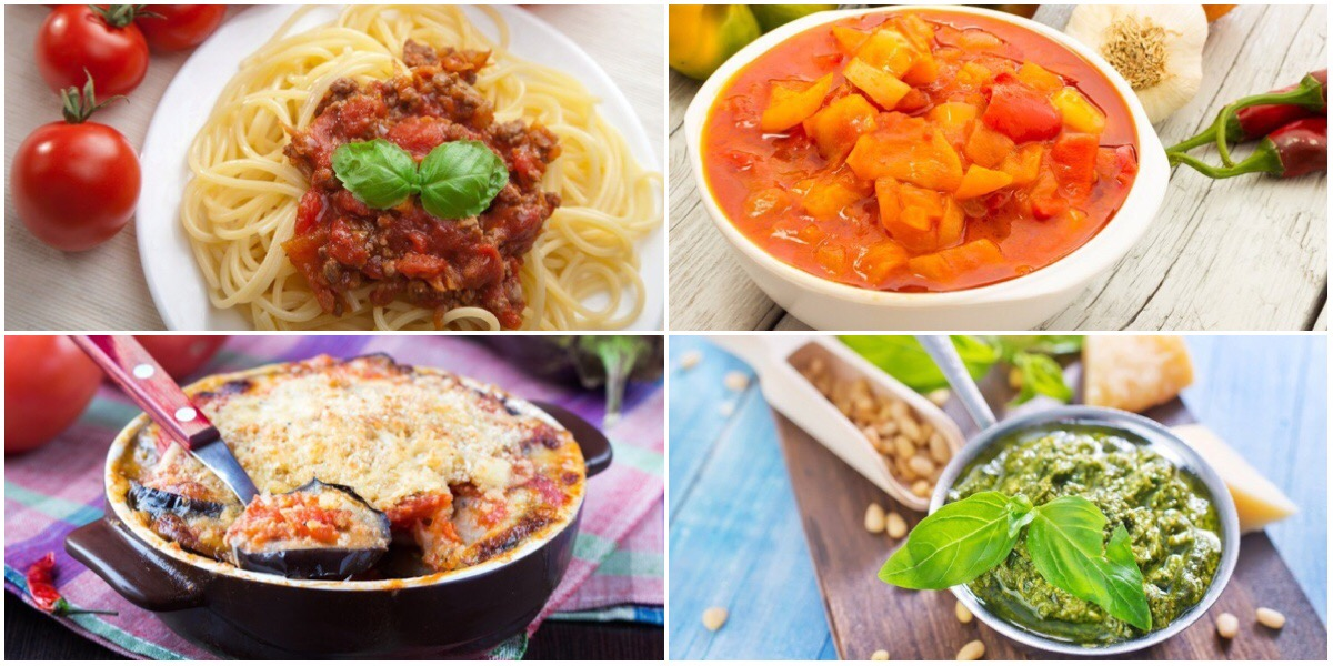 Подборка рецептов итальянской кухни