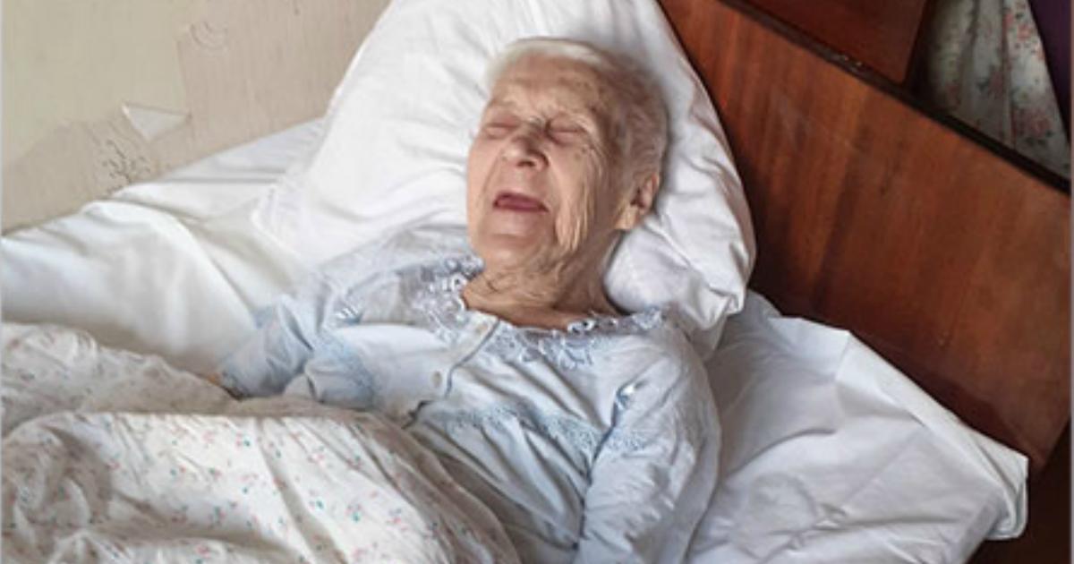 Фото Соседи спасли 94-летнюю старушку от сожителей, которые давали ей уксус