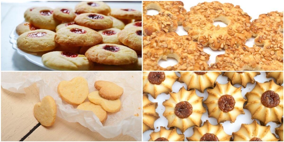Подборка рецептов песочного печенья