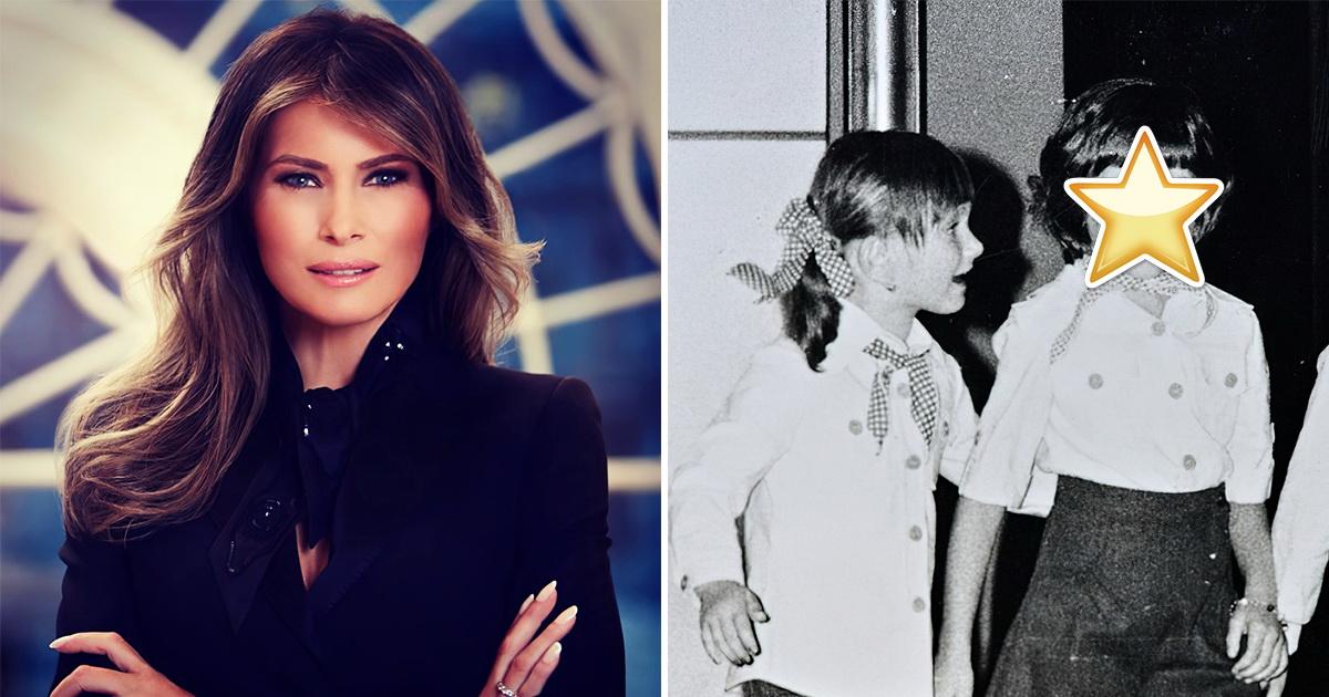 Королева класса или ботаник? Мелания Трамп в школьные годы