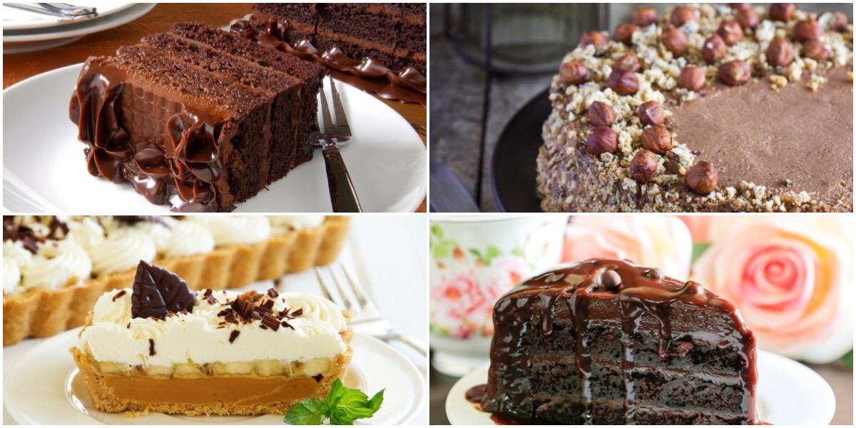 Фото Подборка вкусных тортов со сгущенкой