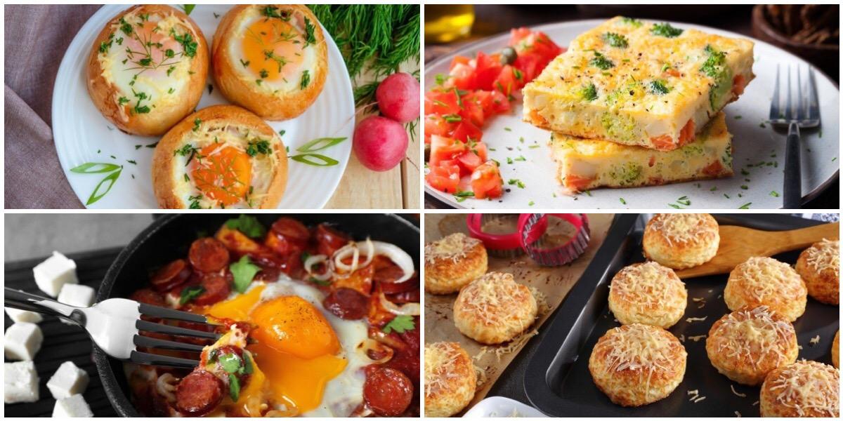 Подборка быстрых в приготовлении и вкусных блюд на завтрак