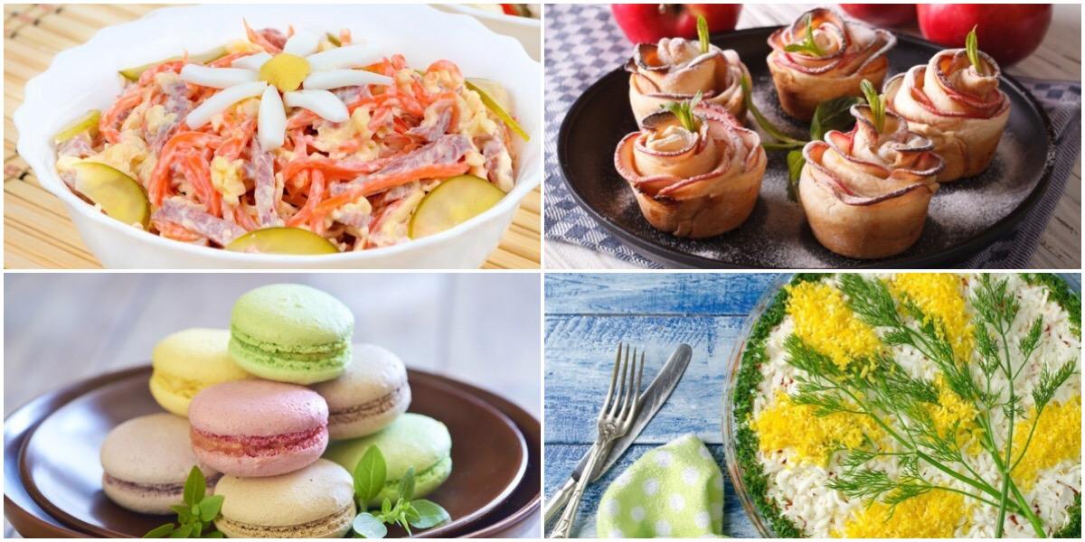 ТОП-7 идей для праздничных блюд к 8 марта