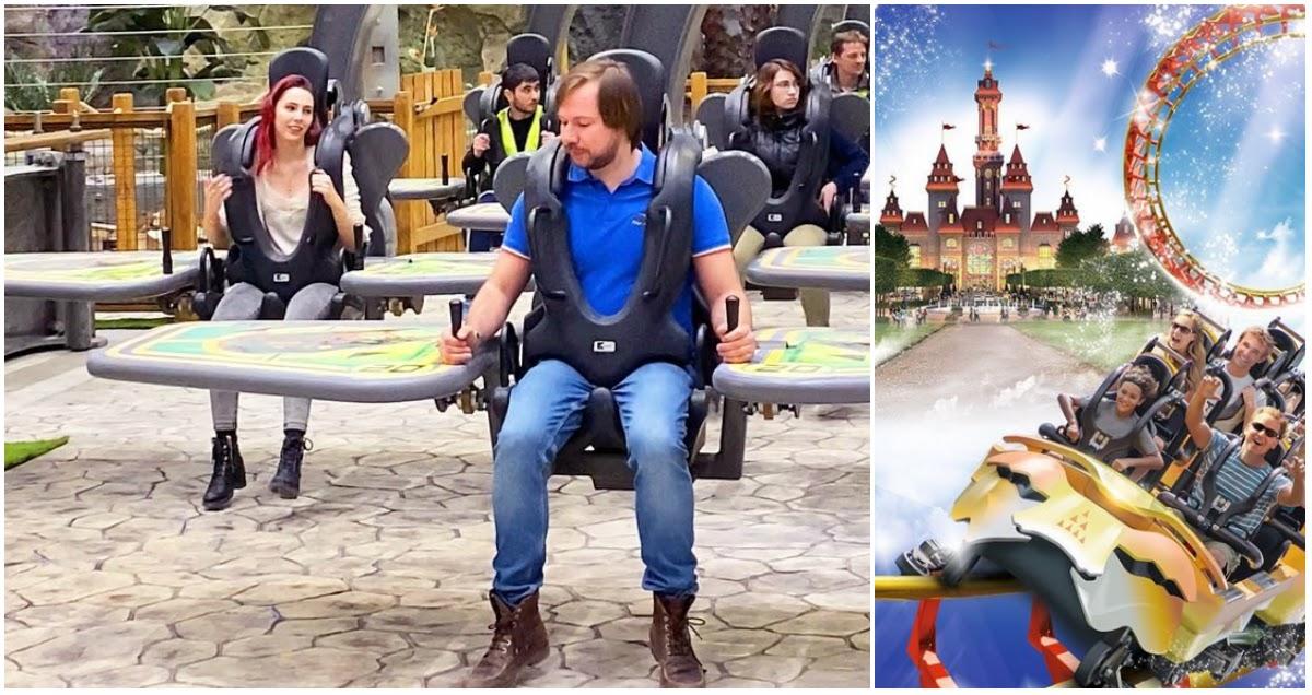 В день открытия в «московском Диснейленде» сломались два аттракциона