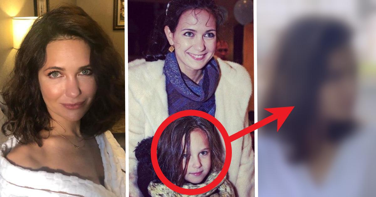 Как мама, только моложе. Старшая дочь Климовой выросла красоткой