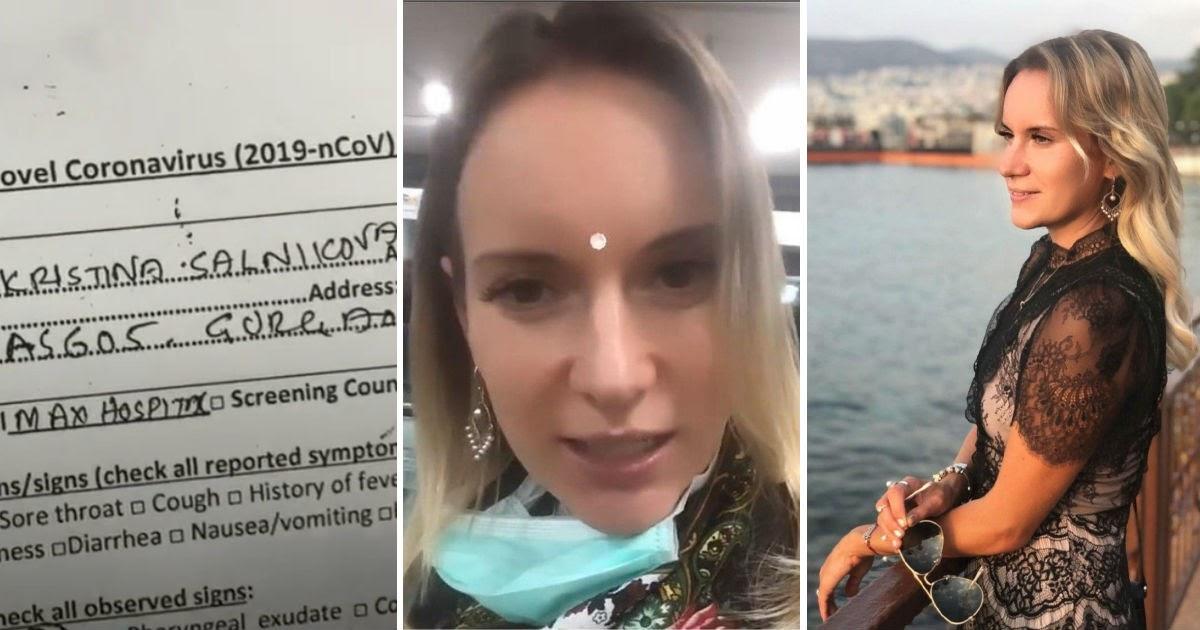 «Тренер духовного роста» с признаками коронавируса сбежала в РФ из Индии