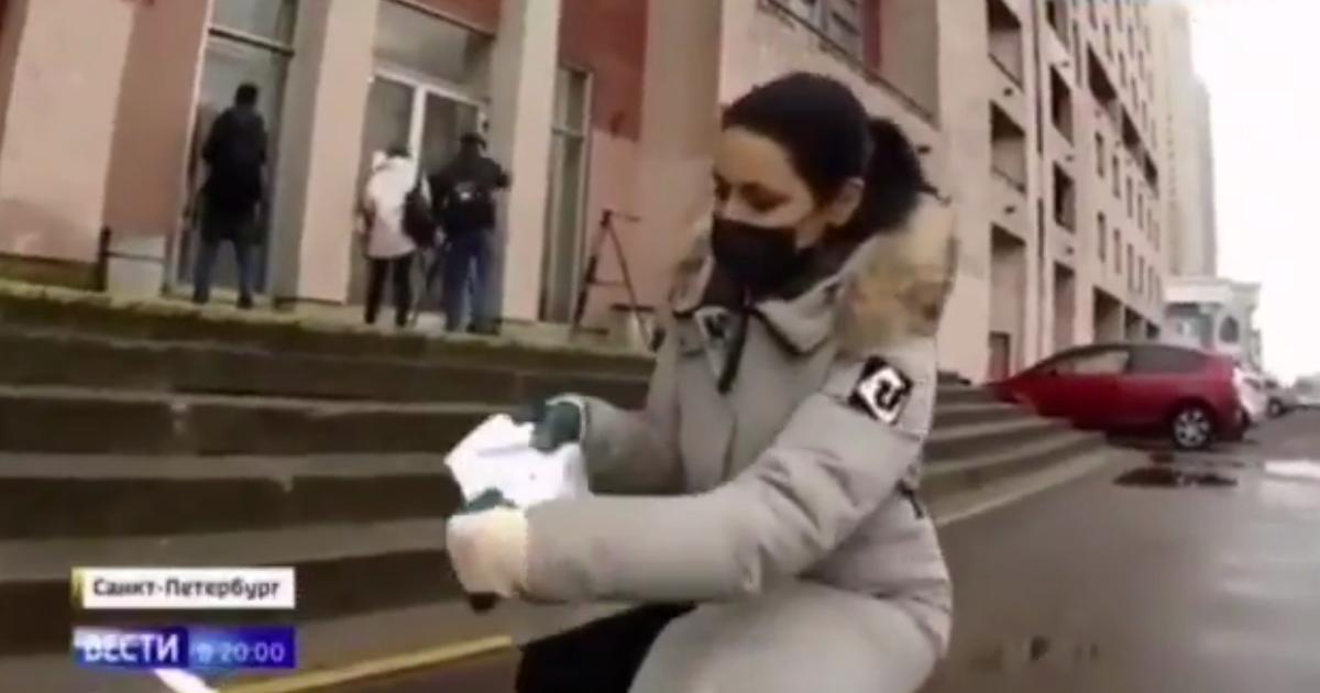 «Россия-1» разбросала «записки о помощи» ради сюжета о коронавирусе
