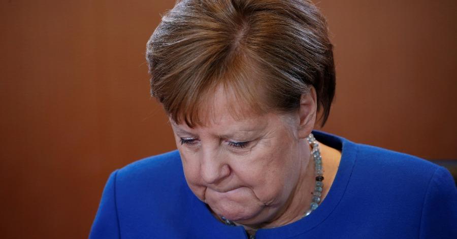 Фото Меркель: до 70% населения Германии могут заразиться коронавирусом