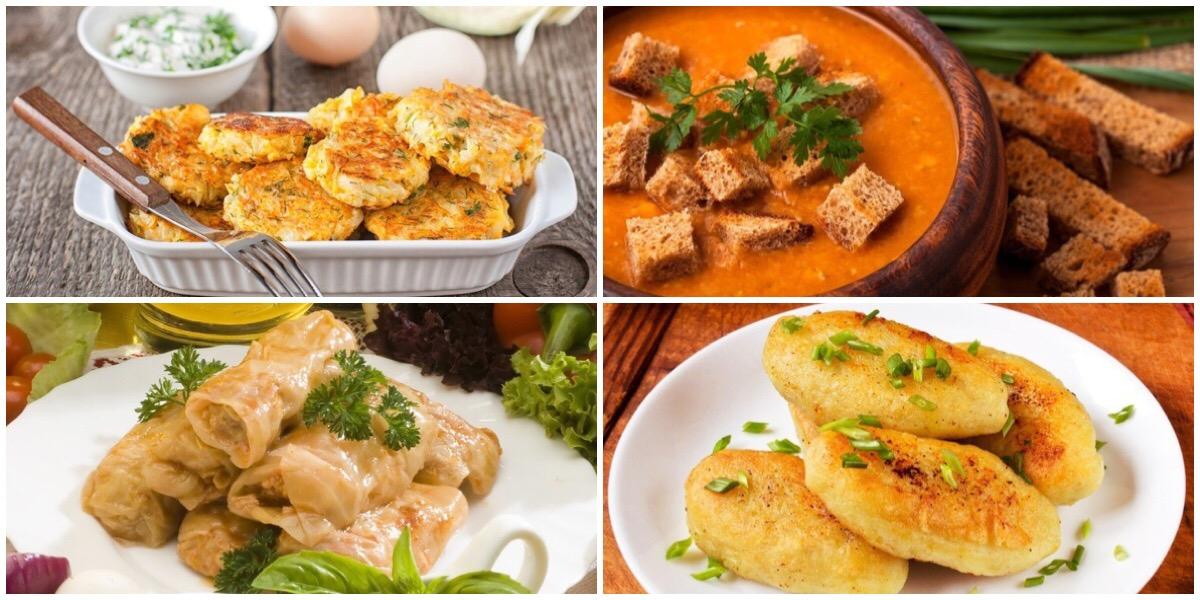ТОП-7 постных блюд на каждый день