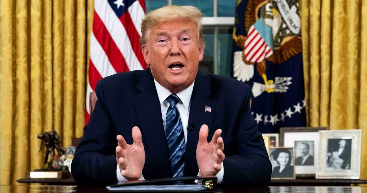 Фото Трамп запретил европейцам въезд в США из-за коронавируса
