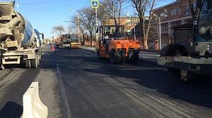 В Ростове начали ремонт трех дорожных объектов