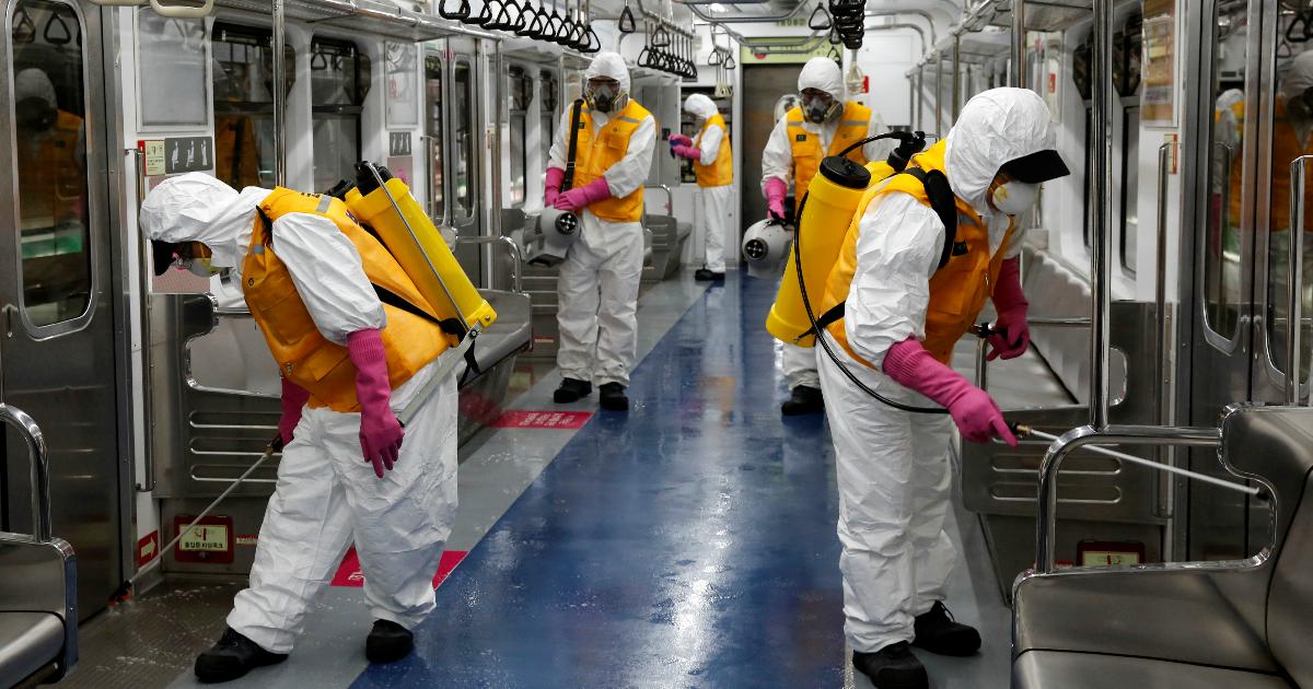 Фото Данные о коронавирусе к вечеру 13 марта: Европа -  в центре пандемии