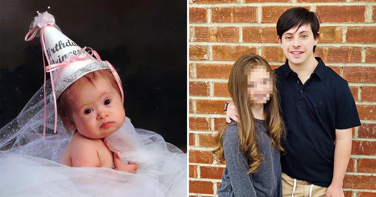 Американка не отказалась от дочери с синдромом Дауна и вырастила красотку