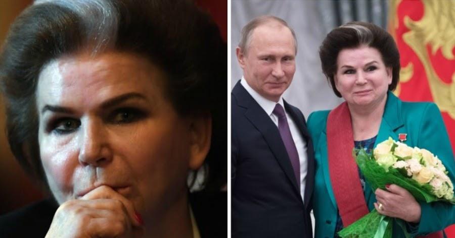 """Фото Терешкова рассказала, что россияне благодарны ей за """"сохранение Путина"""""""