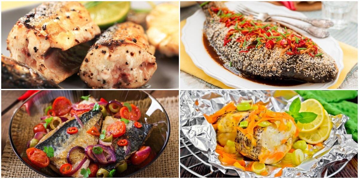 Фото 7 оригинальных рецептов рыбных блюд