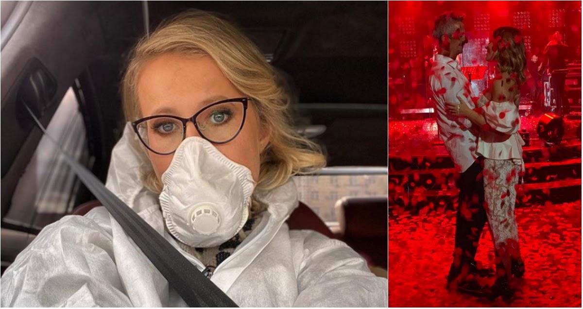«Наконец-то я спрятала челюсть»: Собчак рассказала о жизни на карантине
