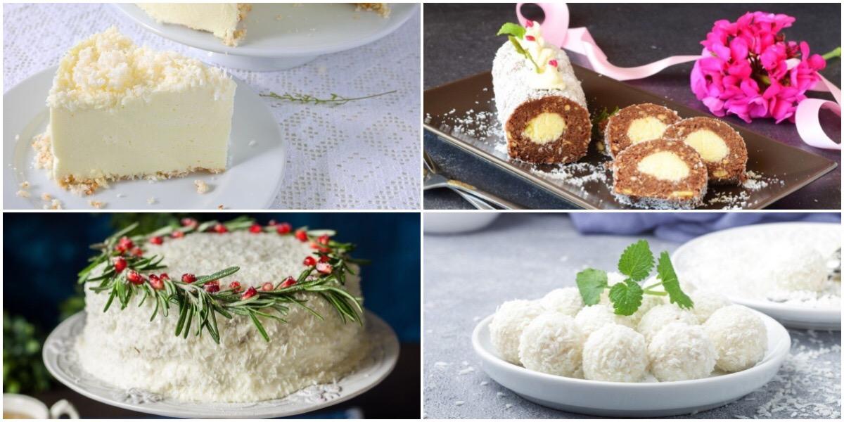 ТОП-7 десертов с кокосовым вкусом