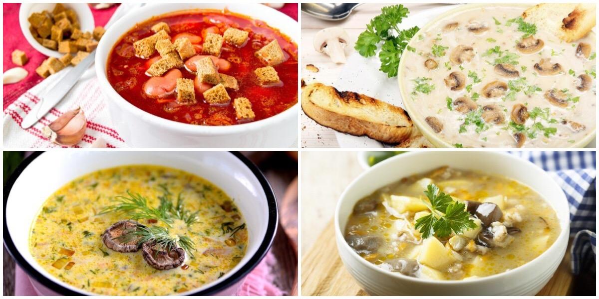 7 оригинальных супов с грибами
