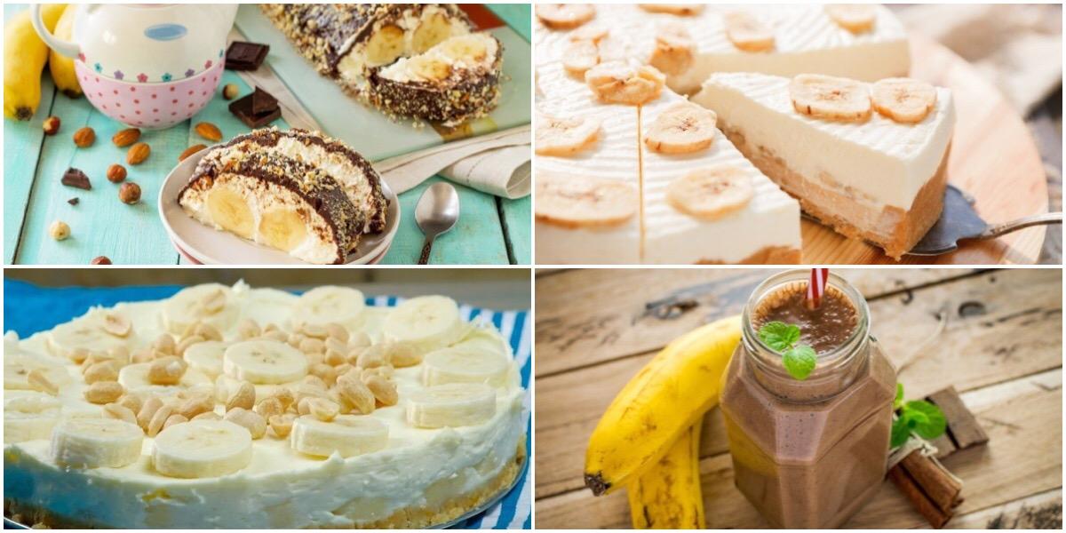 ТОП-7 банановых десертов