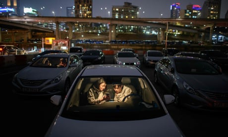 Photo of South Korea's booming drive-ins - in pictures
