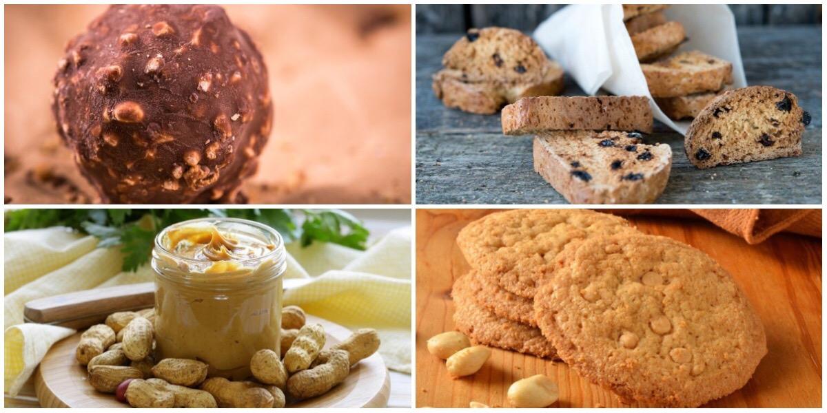 Подборка десертов с арахисом