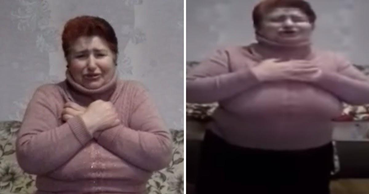 Фото Украинка, заразившая односельчан коронавирусом, извинилась на коленях